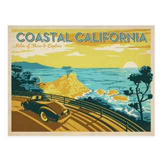 Postal California costera