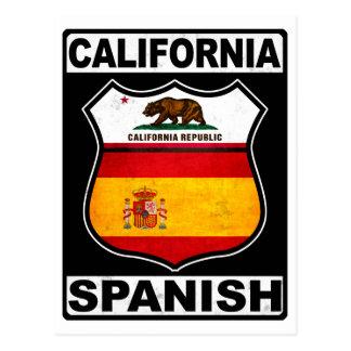 Postal California hispanoamericana