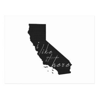 Postal California I tiene gusto de él aquí