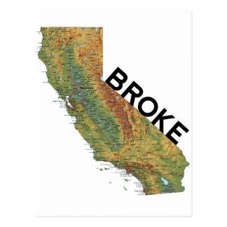 Postal California - se rompió