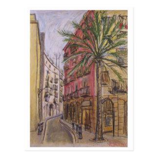 Postal Calle Barcelona