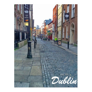 Postal Calle de Dublín
