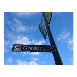 Postal Calle de Gordon