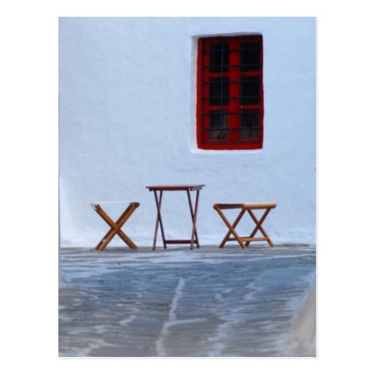 Postal Calle de Mykonos