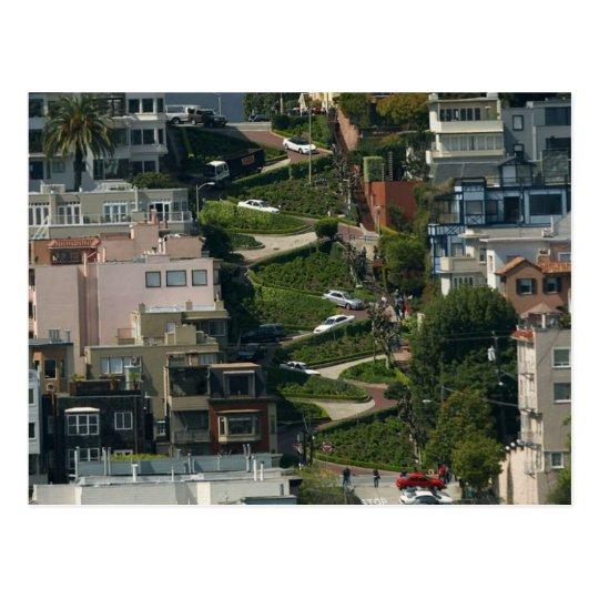 Postal Calle del lombardo en San Francisco Américas