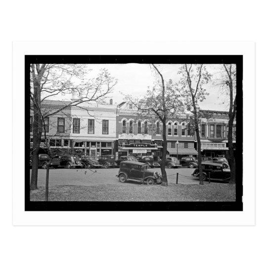 Postal Calle principal, América