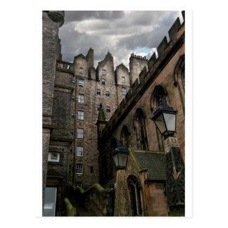 Postal Calle secundaria de Edimburgo, Escocia