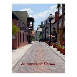 Postal Calle St Augustine, la Florida de Avilés