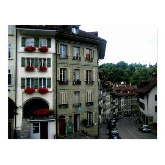 Postal Calles de Berna