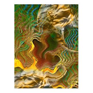 Postal:  Cambios en topografía