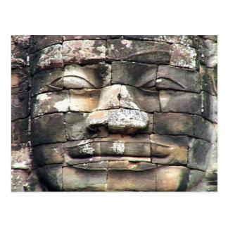 Postal Camboya Buda