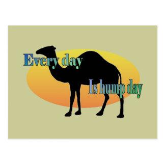 Postal Camello - cada día es día de chepa