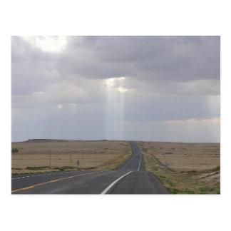 Postal Camino a la luz