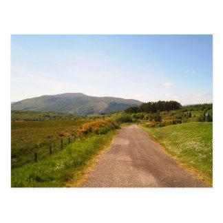 Postal camino al azar en Escocia