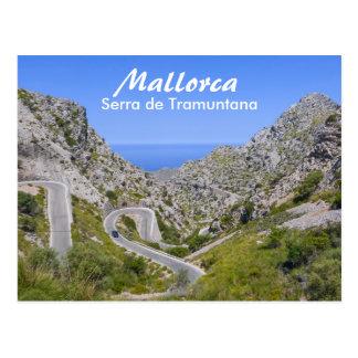 Postal Camino de Mallorca Serra de Tramuntana Mountain