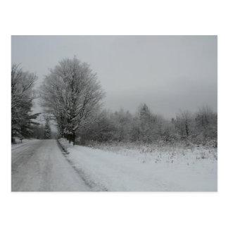 Postal Camino de Stannard Mountian, Vermont