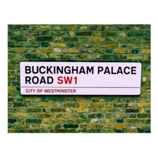 Postal Camino del Buckingham Palace - Londres