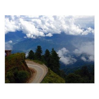 Postal Camino en Bhután