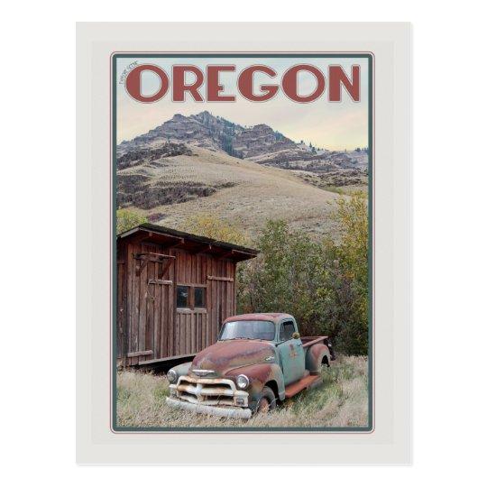 Postal Camión del este del vintage de Oregon