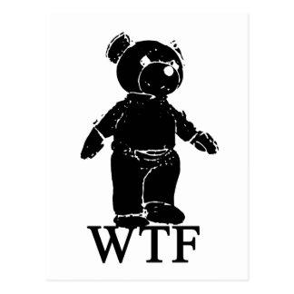 Postal Camiseta de la parodia de WTF