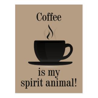 Postal Camiseta del amante del café