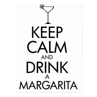 Postal Camiseta tranquila de Margarita de la estancia
