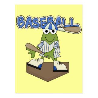 Postal Camisetas y regalos de la meta del béisbol de la