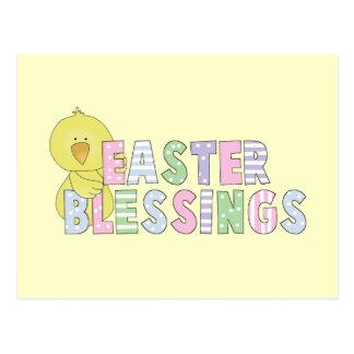 Postal Camisetas y regalos de las bendiciones de Pascua