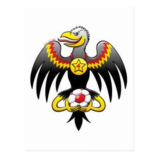 Postal Campeón del fútbol de Eagle de Alemania