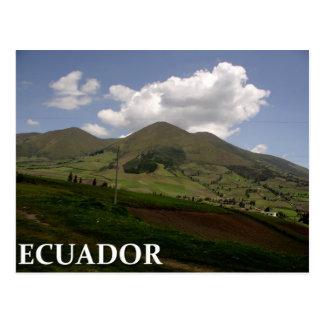 Postal Campo de Ecuador