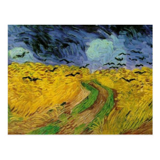 Postal campo de trigo de 800px-vincent Van Gogh