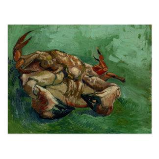 Postal Cangrejo de Van Gogh el   en su cambio trasero del