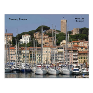 Postal Cannes, Francia, Ola Berglund de la foto