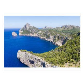 Postal Cap de Formentor, Mallorca, España