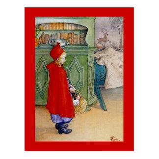 Postal Caperucita Rojo 1913