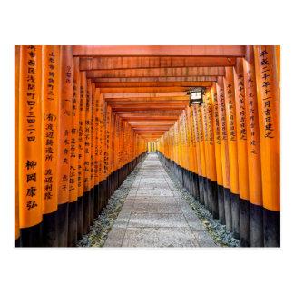 Postal Capilla de Fushimi Inari, Kyoto