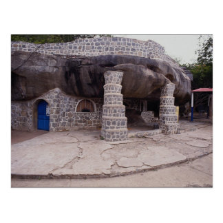 Postal Capilla de la gruta de Mariel, visitation del