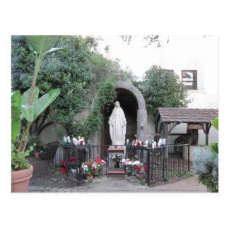 Postal Capilla de la madre bendecida, misión de Ventura