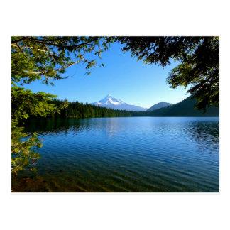Postal Capilla del Mt y lago perdido