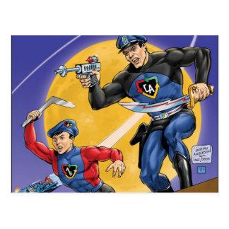 Postal Capitán Action Classic