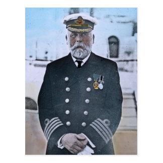 Postal Capitán titánico Edward J. Smith del RMS