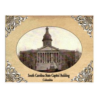 Postal Capitolio del estado de Carolina del Sur que
