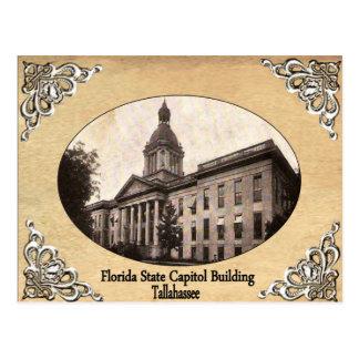 Postal Capitolio del estado de la Florida que construye