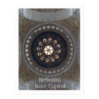 Postal Capitolio del estado de Nebraska