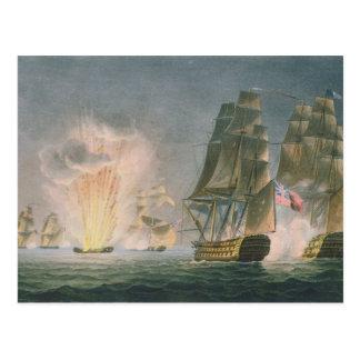 Postal Captura del Rivoli, el 22 de febrero de 1812,