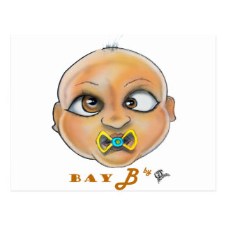 Postal Cara de la bahía B