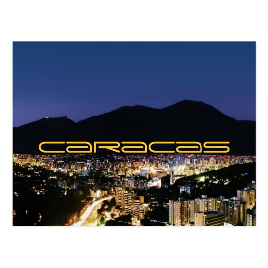 Postal Caracas by night