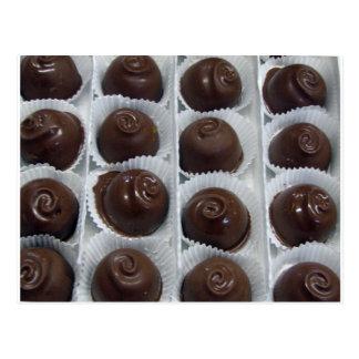 Postal Caramelo de chocolate