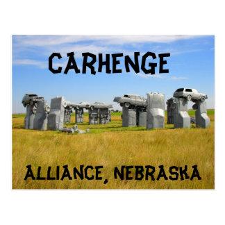 Postal Carhenge