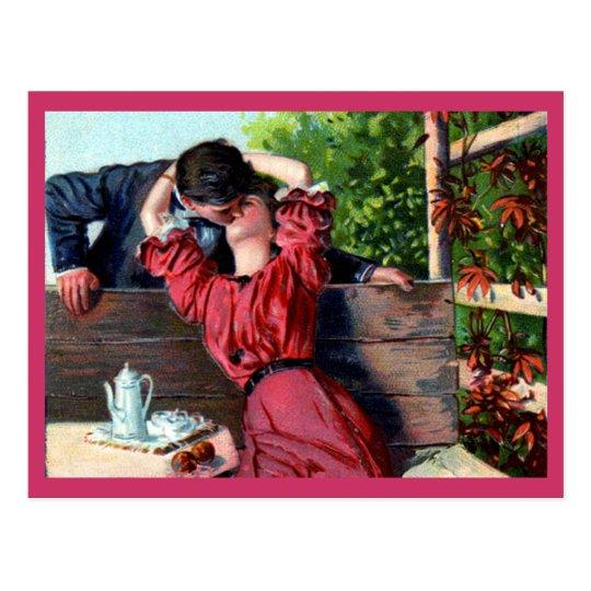 Postal cariñosa de la tarjeta del día de San
